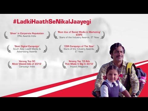 Mahindra Group-#LadkiHaathSeNikalJaayegi - Mahindra & Nanhi Kali | Empowering the Girl Child | Mahindra Rise