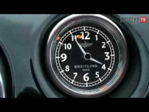 Bentley Continental GT Тест Bentley ч.2