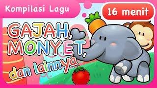 Video Lagu Anak | Gajah, Monyet dan lainnya MP3, 3GP, MP4, WEBM, AVI, FLV September 2018