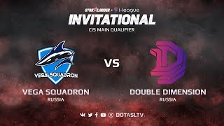 Vega Squadron против Double Dimension, Первая карта, CIS квалификация SL i-League Invitational S3