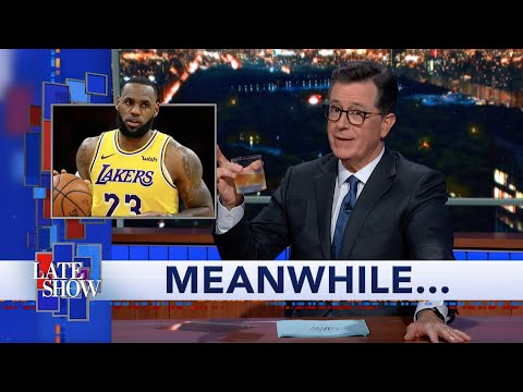 Meanwhile Does LeBron James Own Taco Tuesday