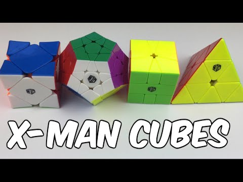 Reviewing Four X-man Puzzles - Wingy, Galaxy V2, Volt And Bell
