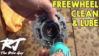 Video How To Clean, Degrease and Lube a Bike Freewheel MP3, 3GP, MP4, WEBM, AVI, FLV Agustus 2017
