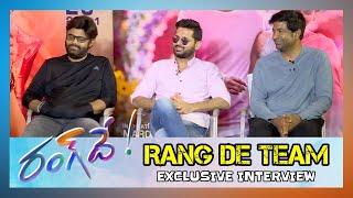 Rang De Team Interview | Nithin, Keerthi Suresh, Vennela Kishore, Naga Vamsi |