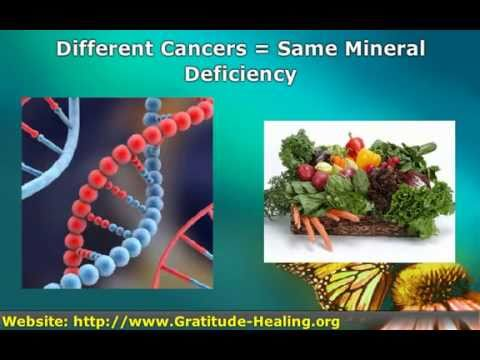 Cancer Is A Mineral Deficiency