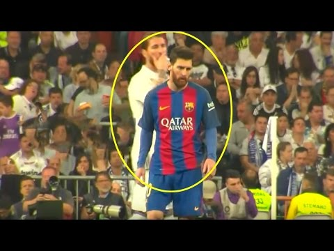 Leo Messi Reactions/Fouls vs Real Madrid (Special Angles)