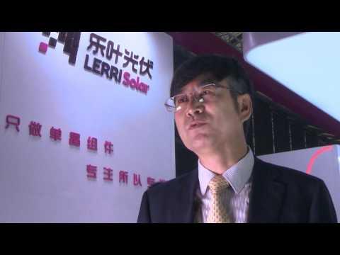LERRI Solar SNEC15 interview (видео)