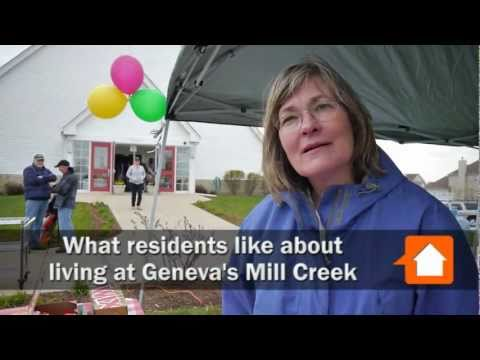 What residents like about Geneva's Mill Creek