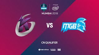 Keen Gaming vs Mr Game Boy, ESL One Mumbai CN Quals, bo3, game 2 [Adekvat & Lost]