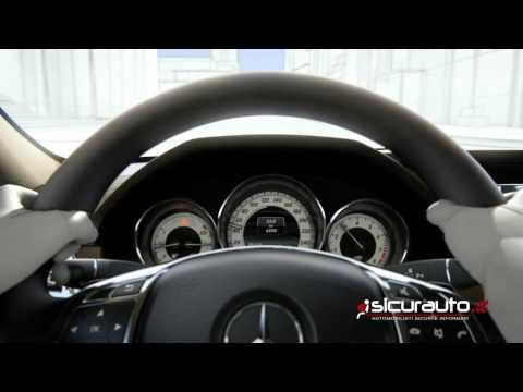Mercedes Intelligent Drive - PRE-SAFE con Riconoscimento Pedoni | Sub-ITA
