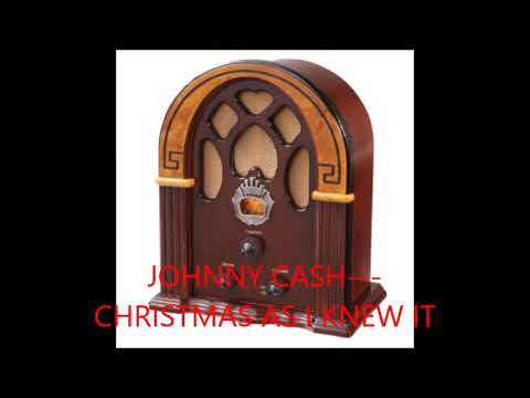 JOHNNY CASH   CHRISTMAS AS I REMEMBER IT