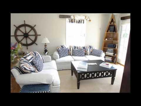 Cool Beach themed living room ideas