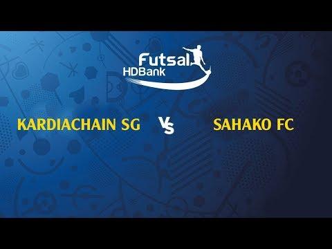 TRỰC TIẾP | KARDICHAIN SG FC - SAHAKO FC | VL GIẢI VĐQG FUTSAL HD BANK 2019 | VFF Channel - Thời lượng: 1 giờ và 52 phút.