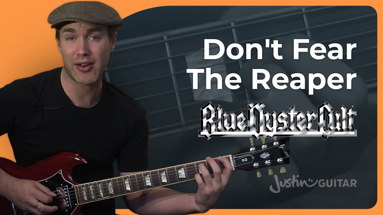 Riff #1: Don't Fear The Reaper – Blue Oyster Cult (Songs Guitar Lesson RF-001) How to play