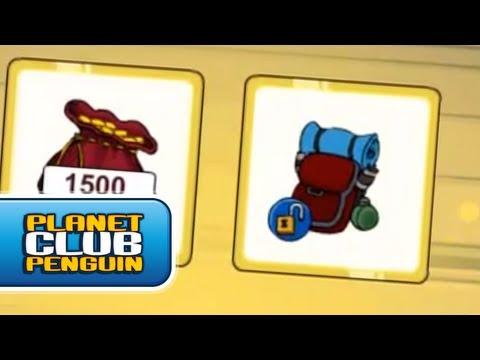 Club Penguin - Novo Item desbloqueável do Club Penguin! - Agosto 2012