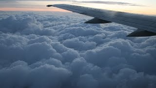 Amazing clouds view from plane