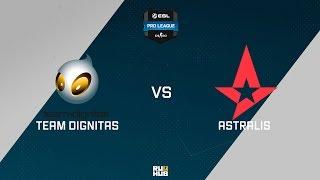 Dignitas vs Astralis, game 1