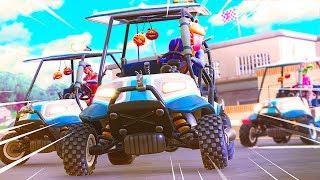 Fortnite Wacky Racing - Fortnite Playground Custom Gamemode