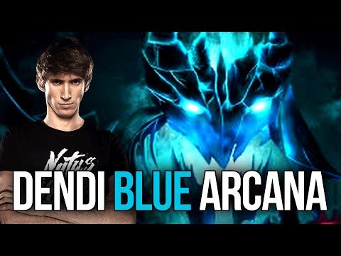 Dendi EPIC BLUE Arcana Mod Shadow Fiend Master Dota 2 (видео)