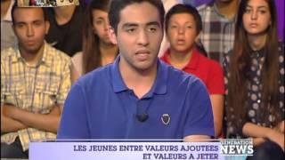 Génération News: أزمة القيم لدى الشباب