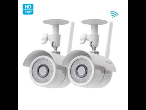 Zmodo security cameras and All in-one home security System *