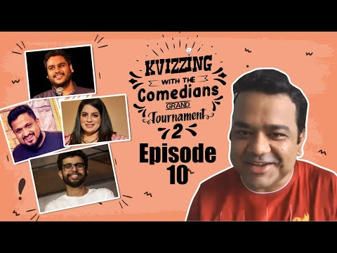 KVizzing With The Comedians Second Edition || SF 2 feat. Aakash, Abbas, Mallika & Vaibhav