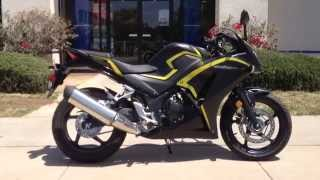 8. 2015 Honda CBR300R ABS