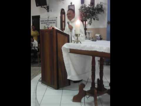 Missa na Capela de Santa Terezinha na Cirolandia em Barbalha