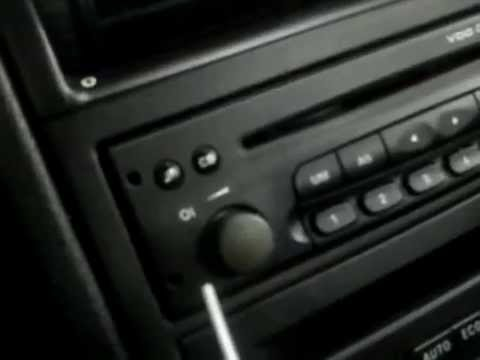 how to remove cd player from vauxhall zafira