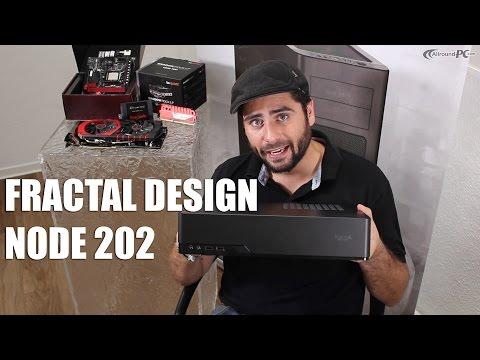 Fractal Design Node 202 - Gehäuse für Wohnzimmer PCs | Allround-PC.com