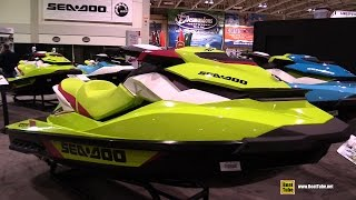 10. 2015 Sea Doo GTI SE 155 - Walkaround - 2015 Toronto Boat Show