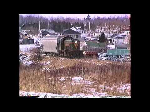 Maine Central ALCO S-1 #958 on the Rockland (ME) Branch 02/21/1991