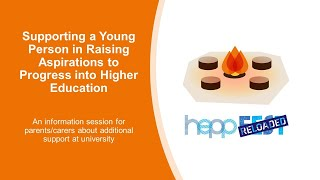 Supporting a Young Person in Raising Aspirations to Progress into Higher Education
