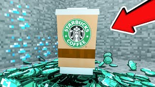 MOST USELESS ITEM MOD IN MINECRAFT... (real coffee)