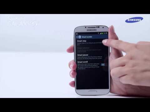 Samsung Galaxy S4 - prezentacja funkcji Smart stay