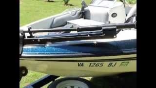 10. 2000 Javelin FS 17 Venom Fish and Ski Boat for sale