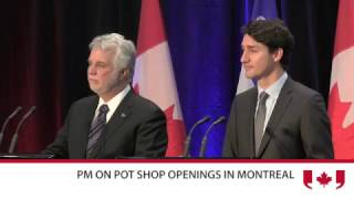 Prince Of Pot Calls PM A Disgrace As Montreal Dispensaries Raided by Pot TV