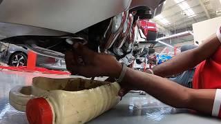 10. goldwing DCT oil & filter Change تبديل الزيت وال�لتر للقولدوينق ٢٠١٨