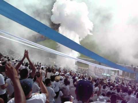Entrada de Alianza F.C.0 vs 2 aguila, 23/09/2012. - La Ultra Blanca y Barra Brava 96 - Alianza