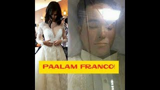 ANNE BINIGYAN NG MOMENT OF SILENCE IN HONOR FRANCO IN THE MIDDLE OF HER WEDDING CELEBRATION!