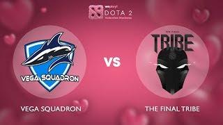 Vega Squadron vs The Final Tribe - RU @Map2   Dota 2 Valentine Madness   WePlay!