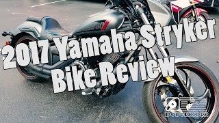 8. Bike Review - 2017 Yamaha Stryker (Raven XVS1300)
