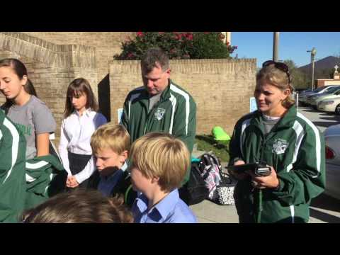 Roanoke Catholic cross-country team heads to state meet