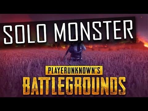 PUBG - SOLO MONSTER auf der DESERT MAP - Twitch Stream Highlight Gameplay German Deutsch
