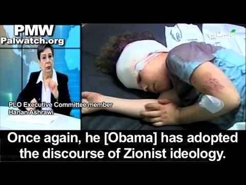 Hanan Ashrawi attacks Obama for acknowledging Jewish history