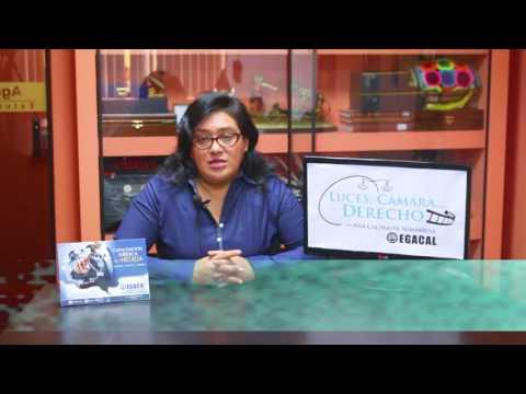 Programa 33 - La revelación del delito - Luces Camara Derecho - EGACAL