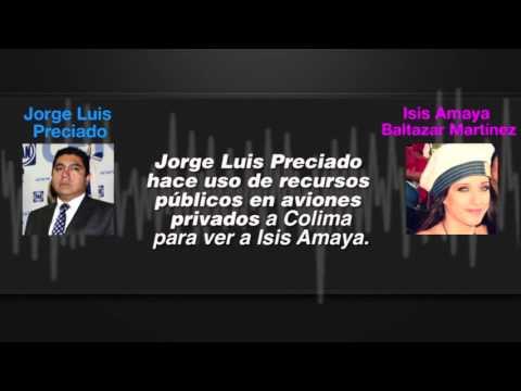 Acusan a Jorge Luis Preciado de desvío y trata