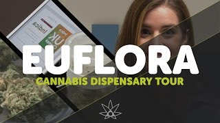 Euflora  Cannabis Dispensary  //  420 Science Club by 420 Science Club