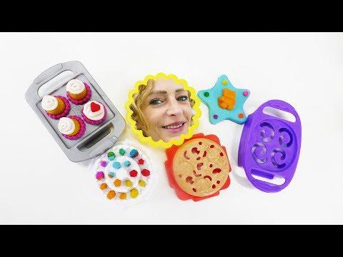 Spielspaß mit Hanazuki! Spiel  mit dem Play Doh Backofen.