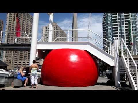 Luminato: Red Ball in Toronto thumbnail
